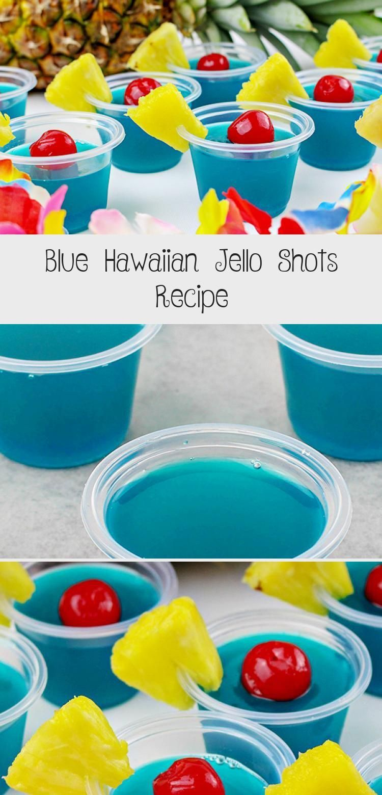 A boozy, summery jello shot recipes for adults! This Blue Hawaiian Jello Shots Recipe gives you colorful blue jello shots, made with Blue Curaçao liquor, Malibu Rum and lots of tropical flavor! Perfect for your summer parties, 4th of July, or any occasion where this boozy treat for adults will be appreciated. #jelloshots #cocktail #jello #4thofjuly #summer #DrinksWithFriends #WineDrinks #HealthyDrinks #SoftDrinks #AlcholicDrinks #jelloshotsvodka