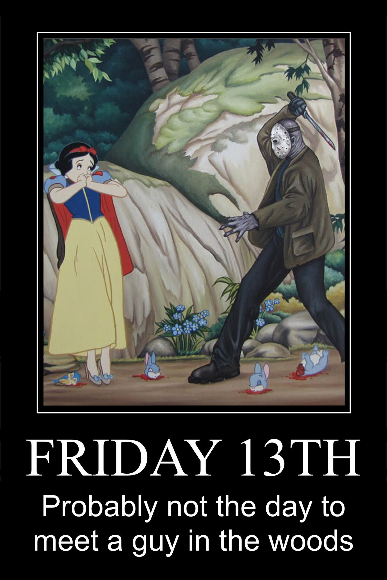 Happy Friday the 13th #jasonlikesthis #motivationalposter ...