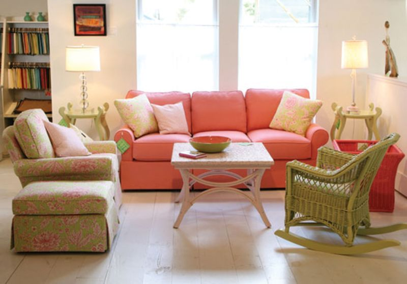 Molly rocker maine cottage change colors to blues and for Change furniture color