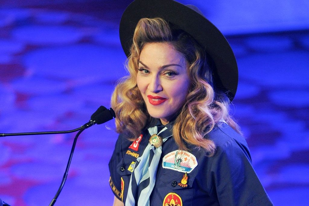 Madonna at the GLAAD Media Awards
