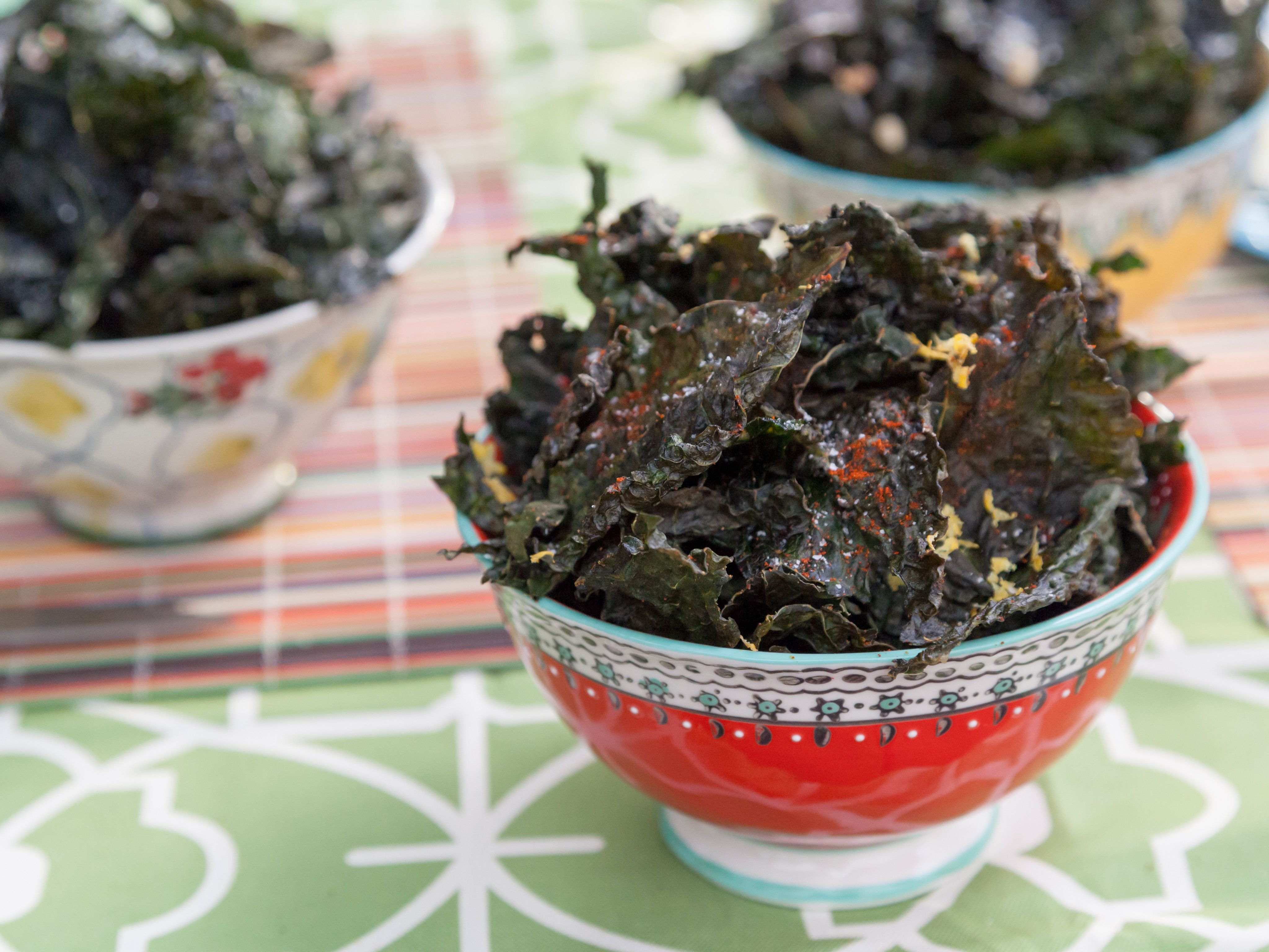 Kale chips three ways recipe valerie bertinelli kale and third dips kale chips three ways recipe from valerie bertinelli via food network forumfinder Images