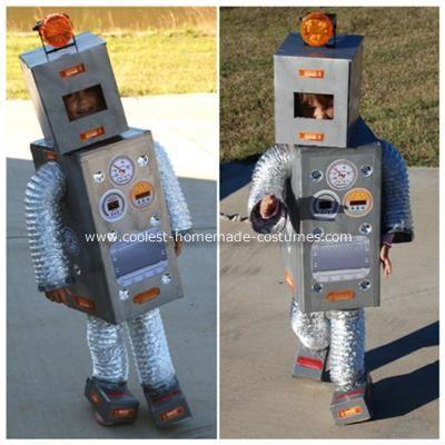 Coolest Miss Robot Costume D Guisements Deguisement Enfant Et Carnaval