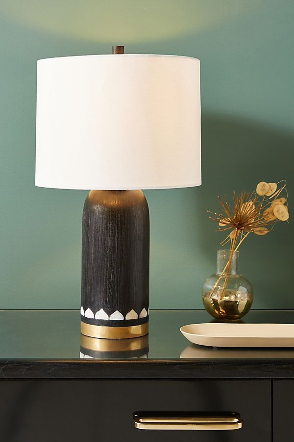 Livia MotherofPearl Table Lamp Unique table lamps