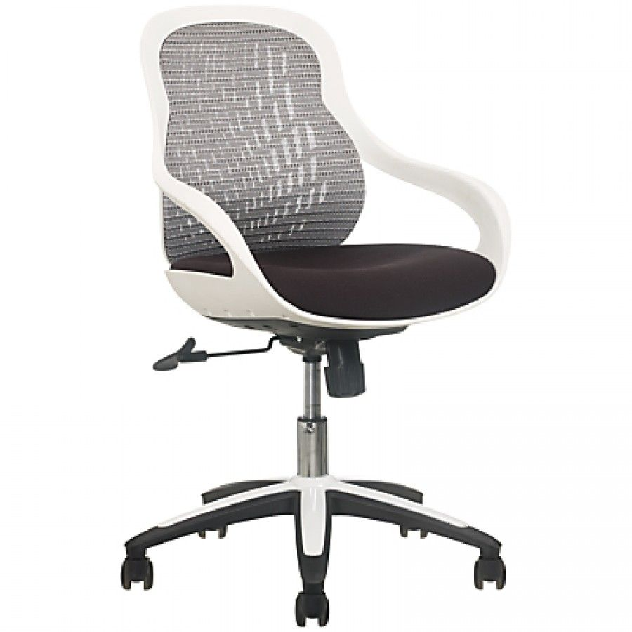 Metro Eames Style Office Chair Black Atlantic Ping New