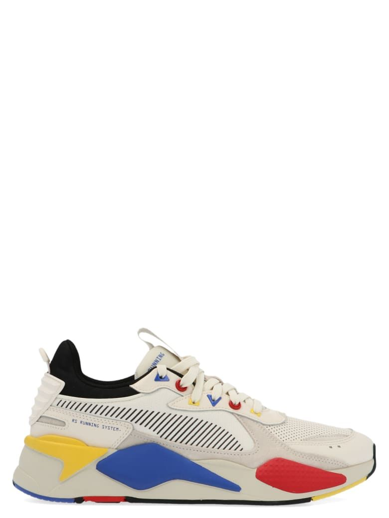 Rs X Colour Theory Shoes From Puma Multimaterial Rs X Colour