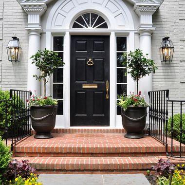 Front door trim. Houzz - Home Design, Decorating and Remodeling ...
