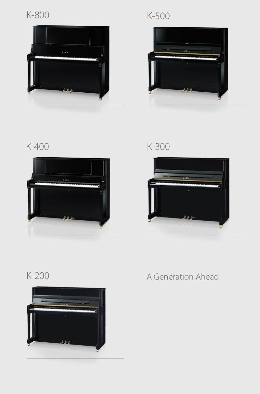 Kawai K Series Professional Upright Pianos >> Kawai K Series Professional Upright Pianos Upright Pianos