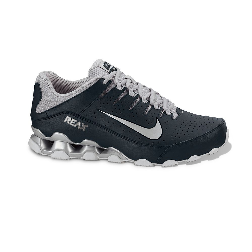 03b368c69392 NIB Nike Reax 8 TR Performance Cross-Trainers Shox Shoes Men - Black  NIKE   AthleticSneakers