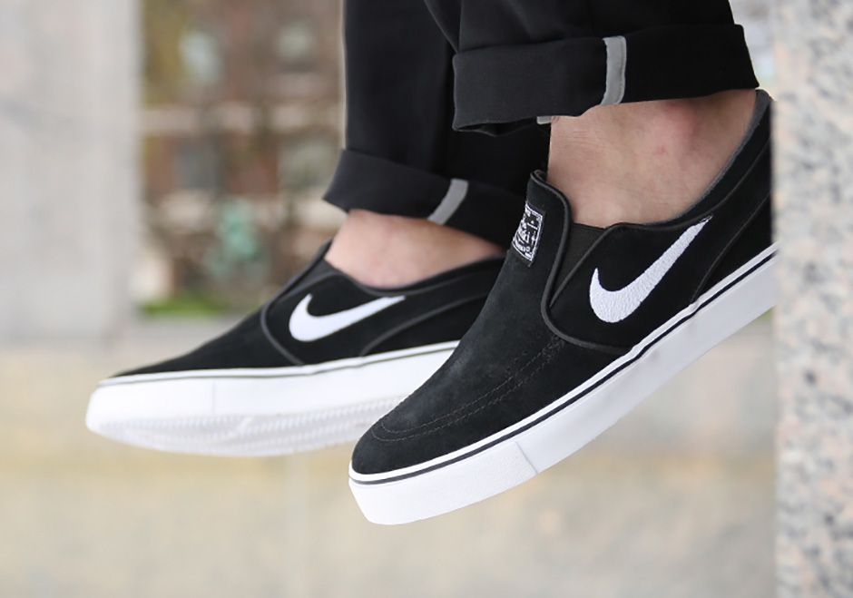 c40b6d0b823 On-Feet Look At The Nike SB Stefan Janoski Slip-On