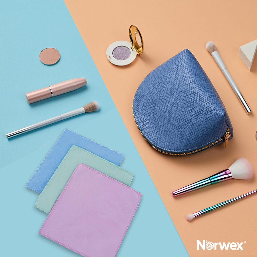 Norwex Makeup Removal Cloths+water = ALL you need to