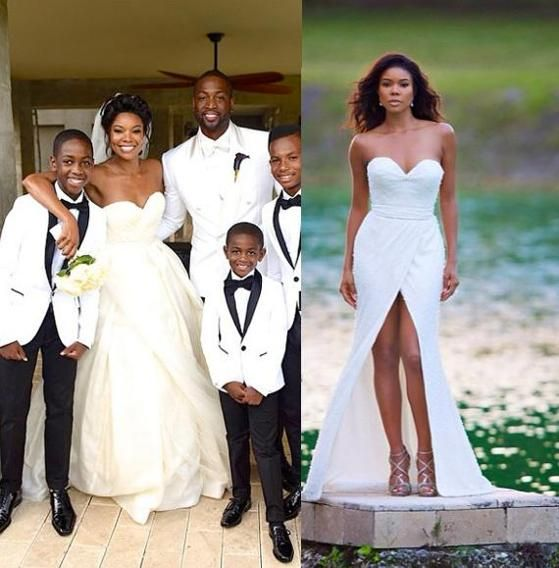 Gabrielle Union Wedding.2014 S Most Fashionable Brides And Grooms African