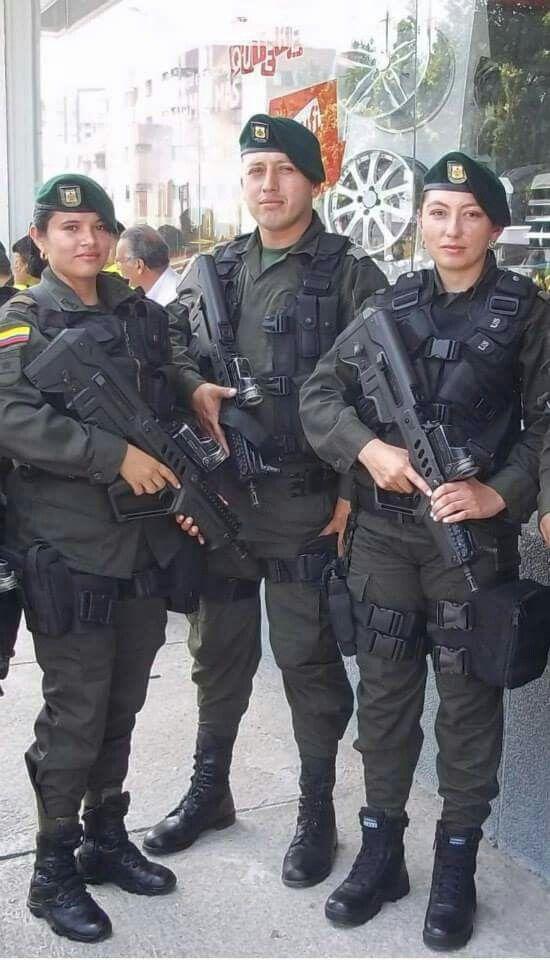 Colombian police | Guns i 2019 | Police, Respect women och Hats