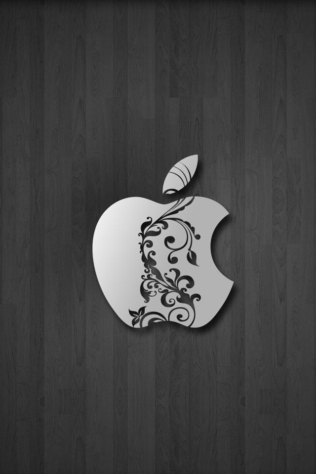 Apple iphone logo bing images apple wood wallpaper - Original apple logo wallpaper ...