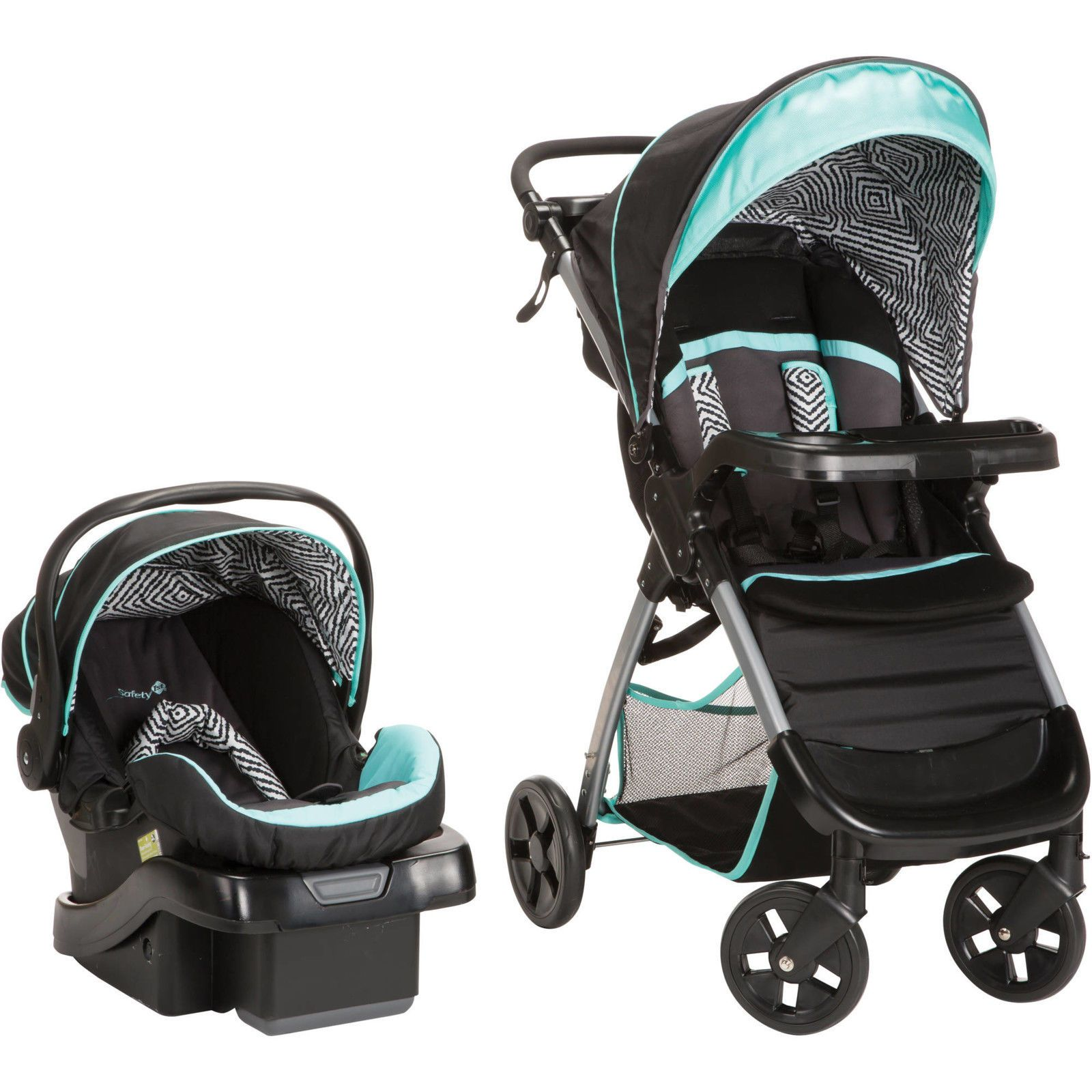 Safety 1st Amble Luxe Travel System Stroller OnBoard35