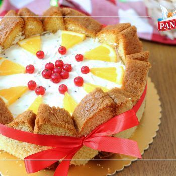 Photo of CHARLOTTE DI PANDORO ALL'ARANCIA – RICETTA FACILE SENZA COTTURA |
