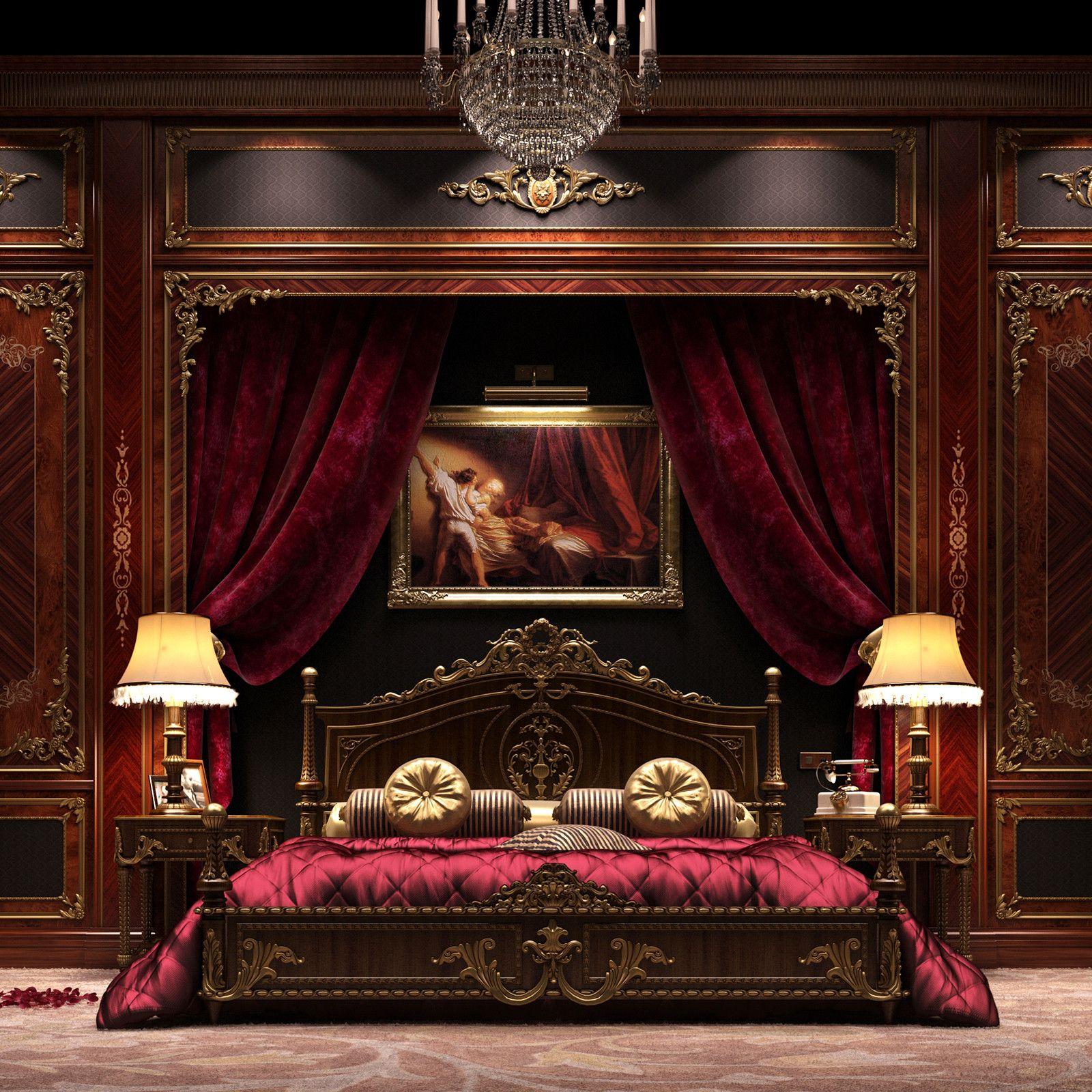 rooms scene 3d model   Royal bedroom, Luxurious bedrooms ... on Model Bedroom Interior Design  id=78904