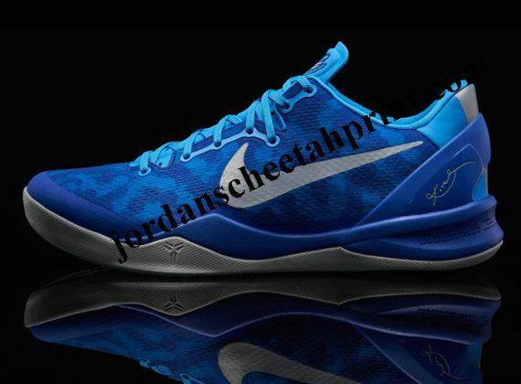 100% authentic 0d08a fd8c7 Nike Kobe 8 Blue Glow Strata Grey Game Royal Duke 555035 400