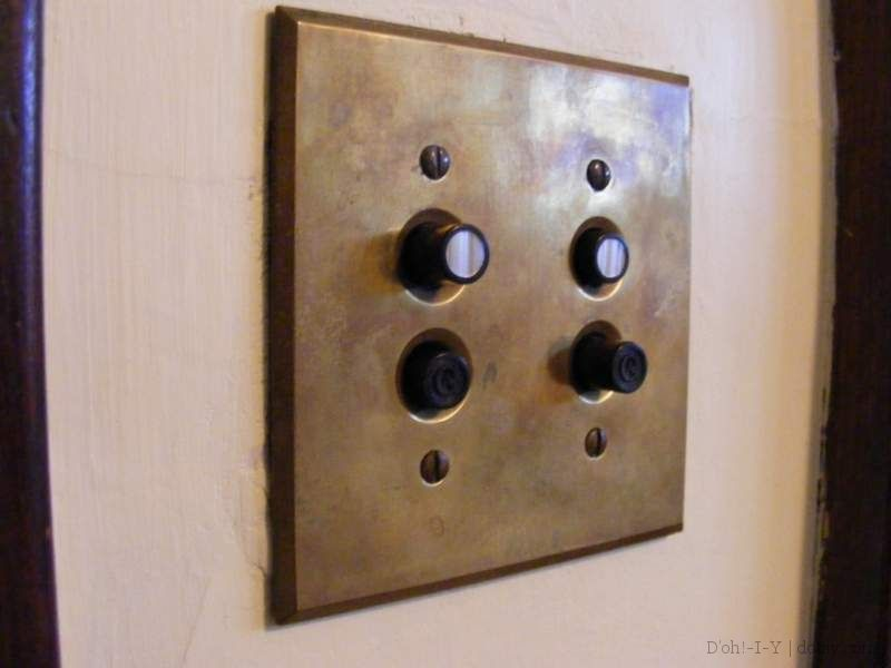 Add Some Character With Vintage Light Switch Covers And