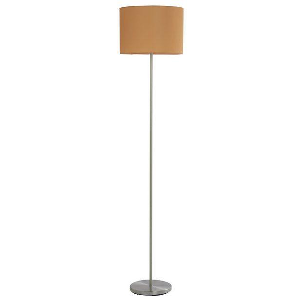 newest 773e6 bc26b Buy Argos Home Mustard Satin Stick Floor Lamp   Floor lamps ...
