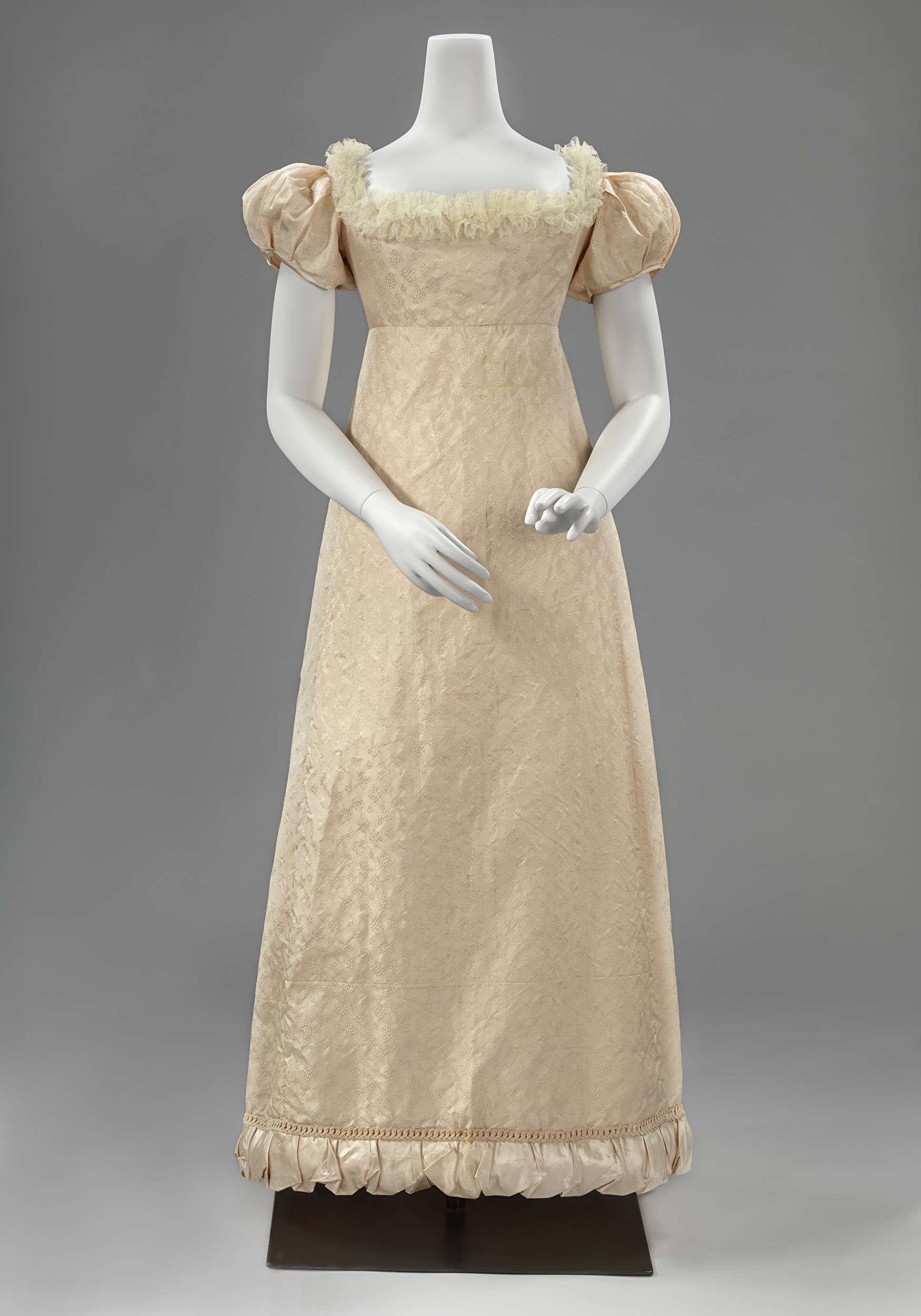 Ball gown ca dutch silk lace silk tulle silk