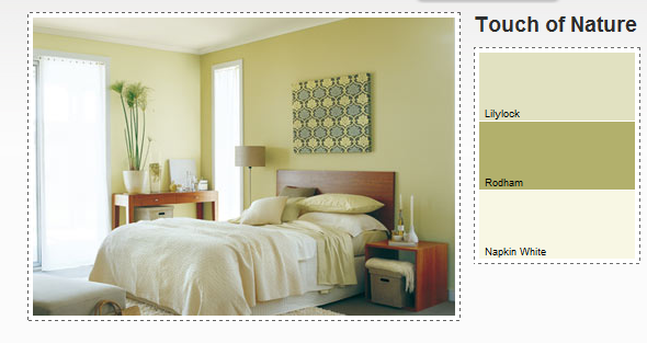 Possible master bedroom colour scheme dulux lilylock for Main bedroom paint ideas