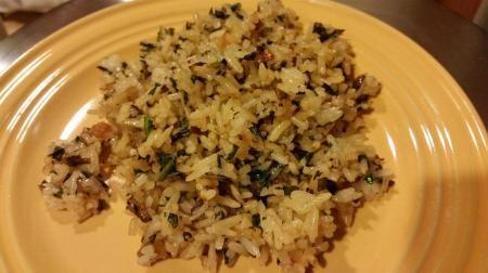 Crispy Kale and Mushroom Fried Rice Recipe