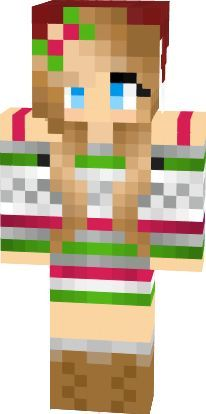 minecraft skin Christmas girl | Minecraft Girl Skins | Pinterest ...