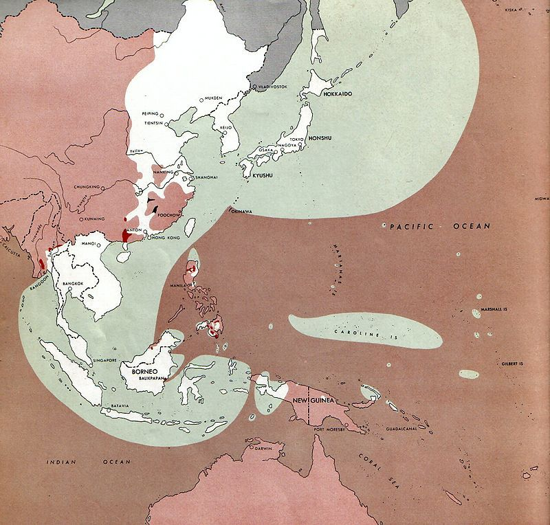 Japanese controlled territory august 1 1945 a handful of days japanese controlled territory august 1 1945 a handful of days before the first atomic peta asiaworld war gumiabroncs Gallery