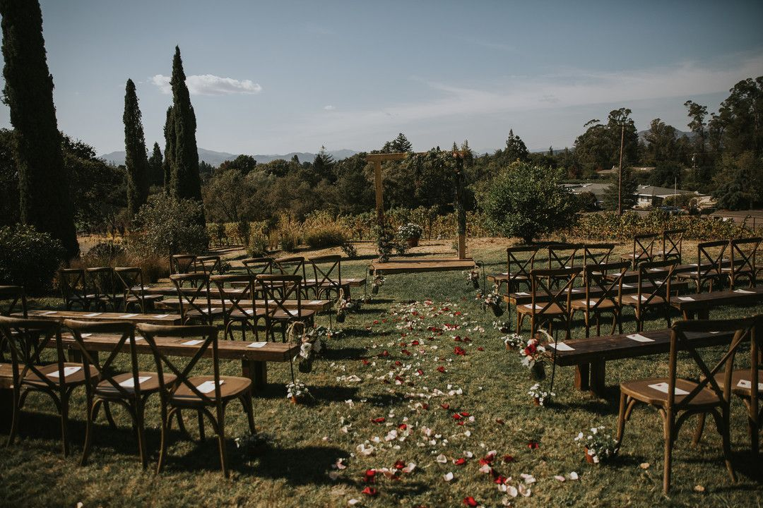 Romantic Outdoor Wedding in Napa Napa, CA Photo Credit