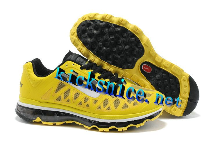 reputable site 1e3ed a94a7 ... discount 58.93 mens nike air max 2011 sonic yellow white black sneakers  yellow womens sneakers 586bd