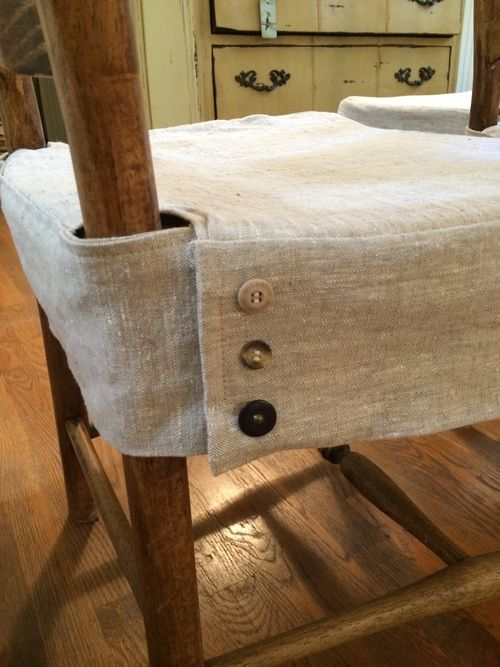 Tailored Dining Chair Slipcover