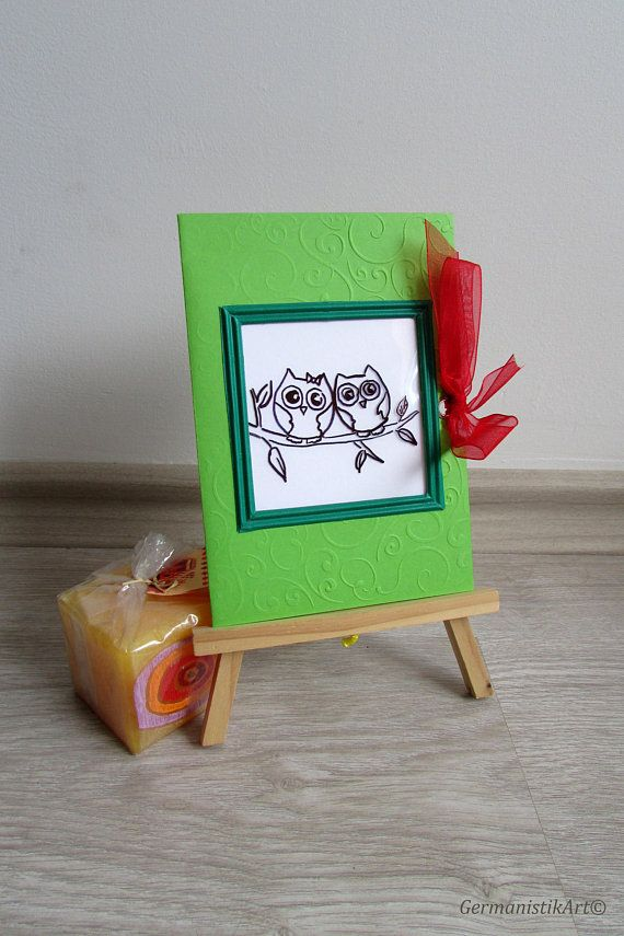 Owl Kids Birthday Magic Color Changing Card