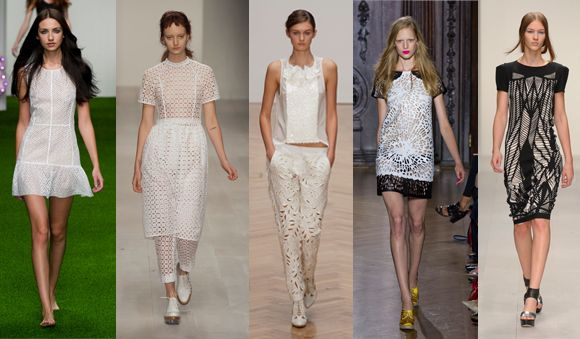 S/S 2013 Trend : Laser cut outs