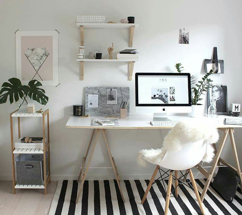 20 Inspiring Home Office Design Ideas For Small Spaces: #schreibtisch #büro #layout #design #interior #möbel