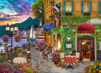 Irresistible Italy Jigsaw Puzzle, New Jigsaw Puzzles: Vermont Christmas Company