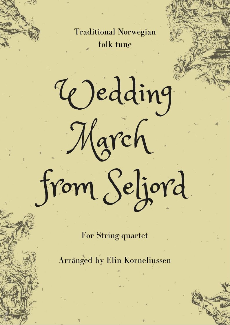 Traditional Norwegian Wedding March For String Quartet