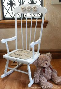 Little Shabby Chic Rocking Chair Shabby Chic Rocking Chair Rocking Chair Kids Rocking Chair