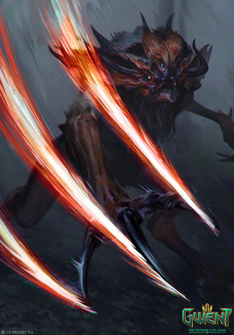 Anna Podedworna Gwent Cards Witcher Monsters Witcher Art Apocalypse Art