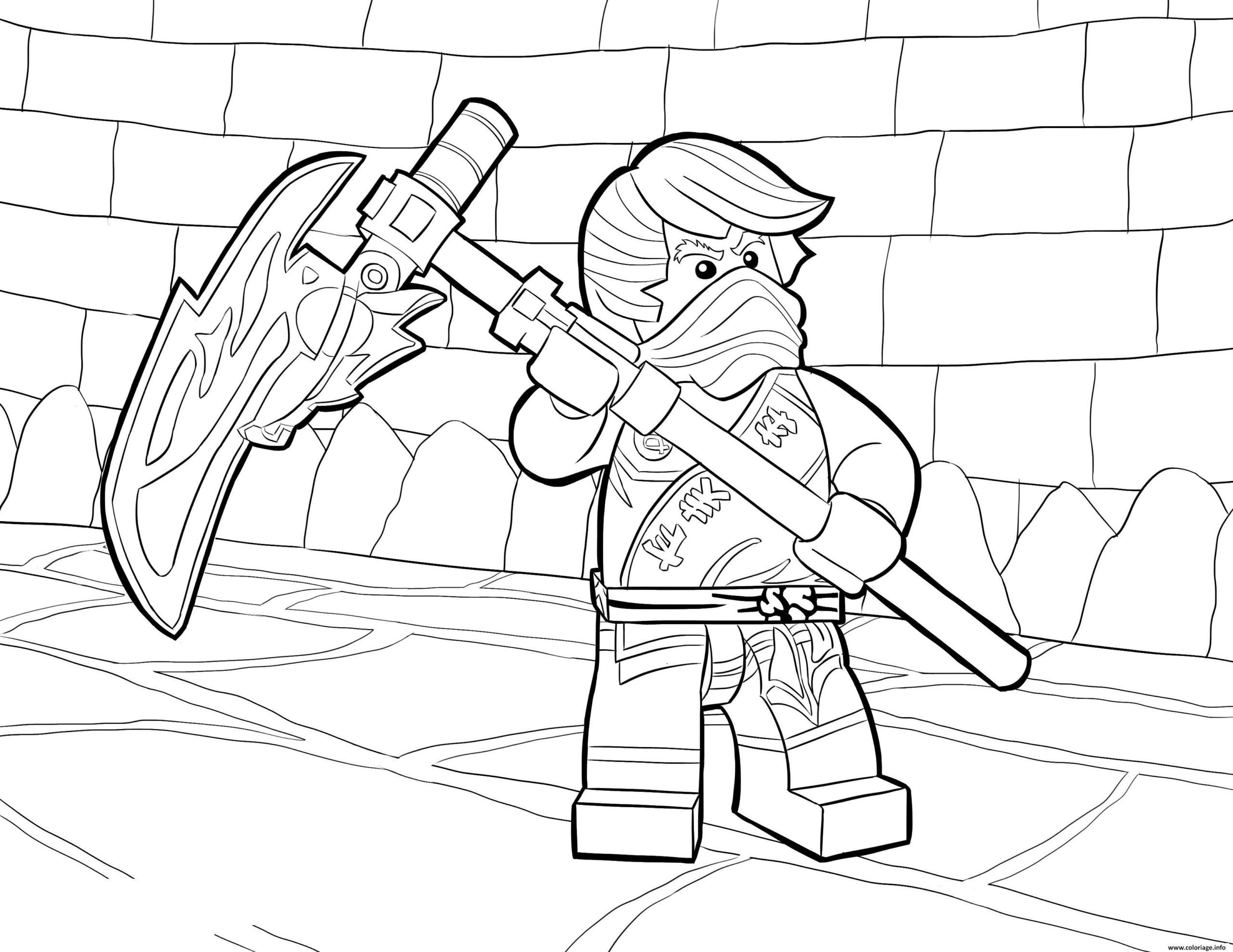 16 Coloriage A Imprimer Ninjago In 2020 Ninjago Coloring Pages Lego Coloring Pages Coloring Books