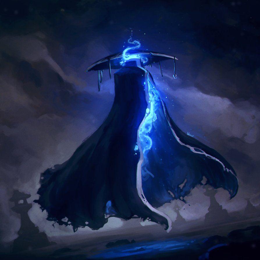Shrine Specter by Wuggynaut.deviantart.com on @DeviantArt | Art, Fantasy  monster, Japanese mythical creatures