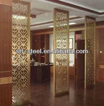 Metal Room Dividers Partitions Metal Decorative Room Divider Partitions Folding