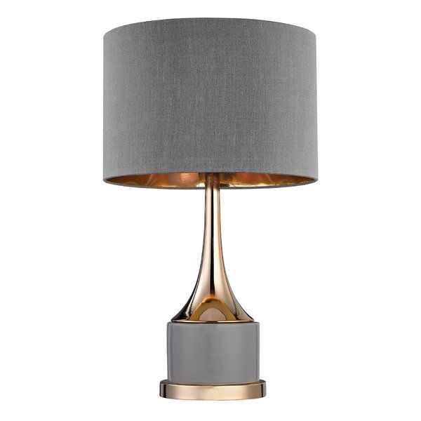 Koopman Small Cone Neck 19 Table Lamp Gold Table Lamp Small