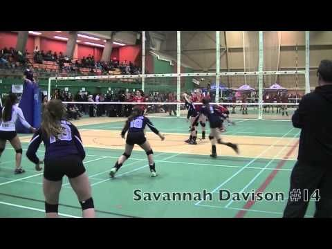 Savannah Davison Oh Class Of 2017 Volleyball Recruitment Video Volleyball Savannah Chat Class
