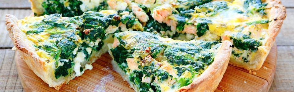 Salmon Paleo quiche