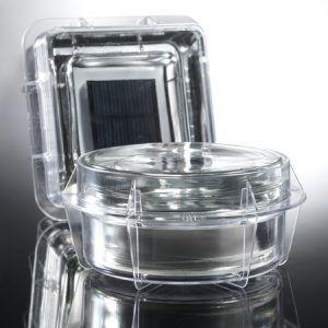 Pav s en verre photovolta ques pour balisage ext rieur en - Montage brique de verre exterieur ...