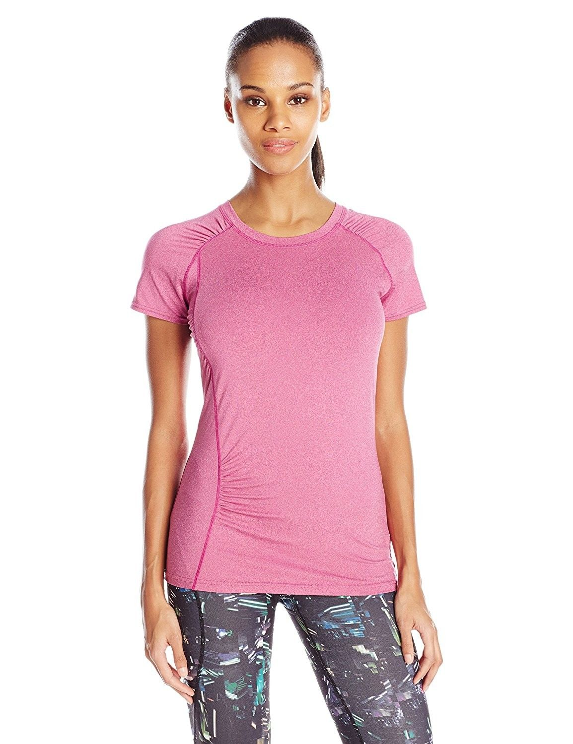 2225b897 Women's Clothing, Active, Active Shirts & Tees, Women's S-Curve Scoop Tee -  Festival Fuchsia - C9124423D7N #Clothing #fashion #Active #style #Sexy  #shopping