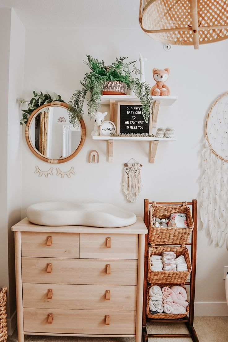 Photo of Boho style in the baby room