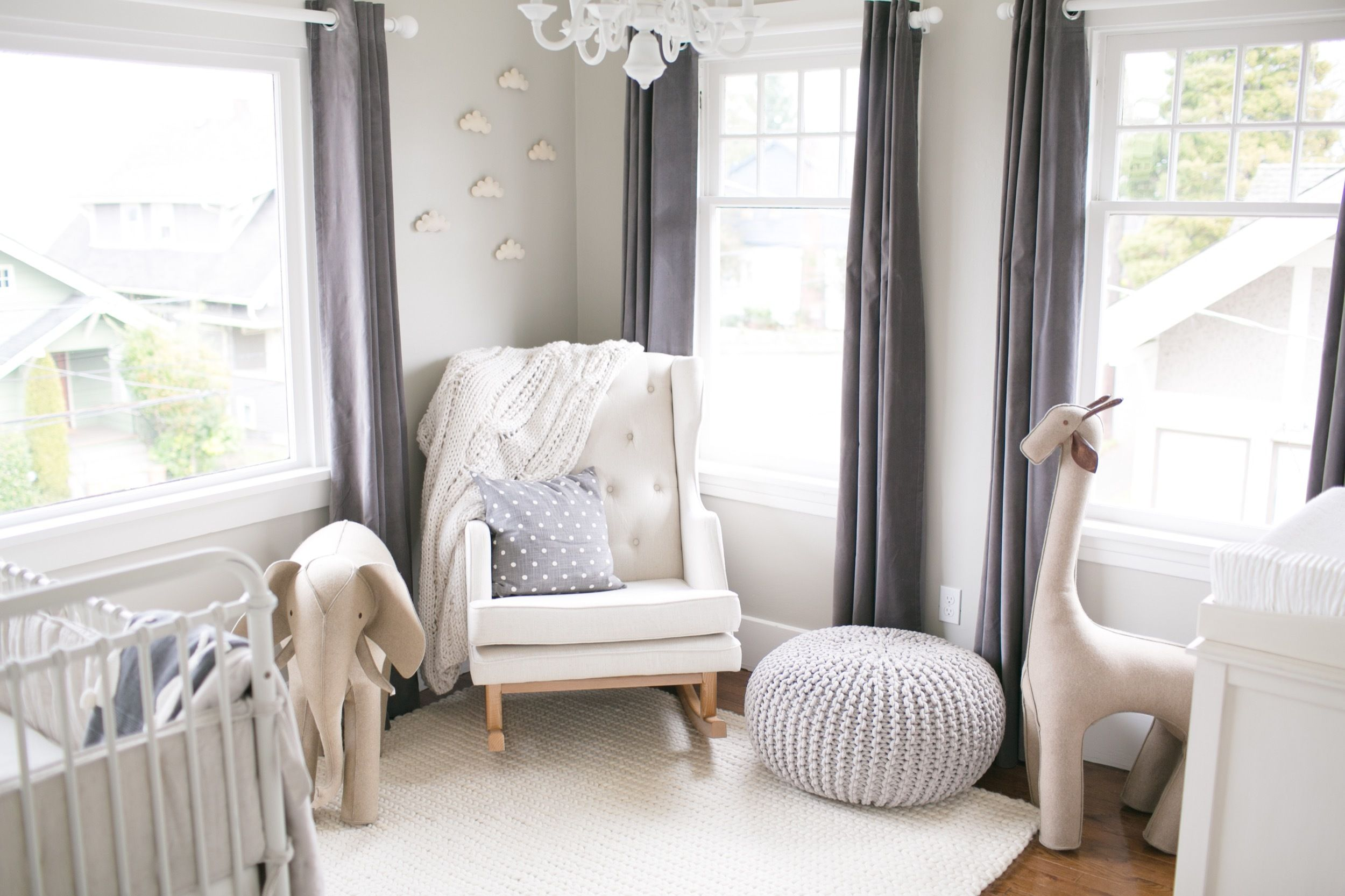 A Timeless Neutral Nursery That Can Grow with Baby
