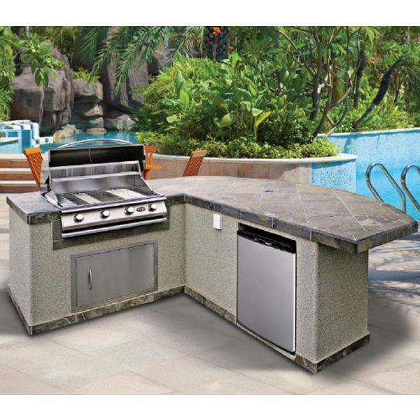 Cal Flame Pv4036 Bbq Grill Island With