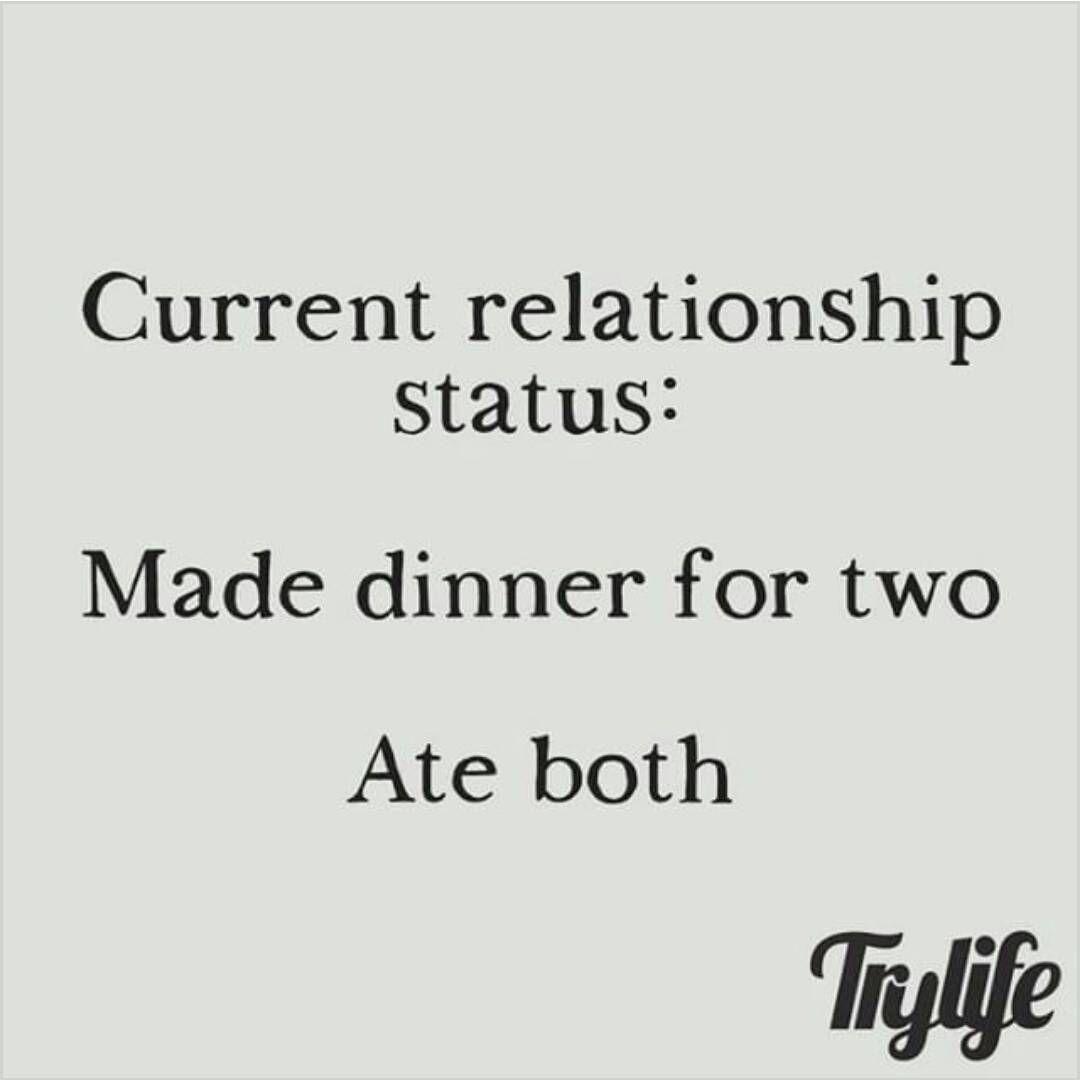 """""""Single humor #morefoodforme #foodlover"""
